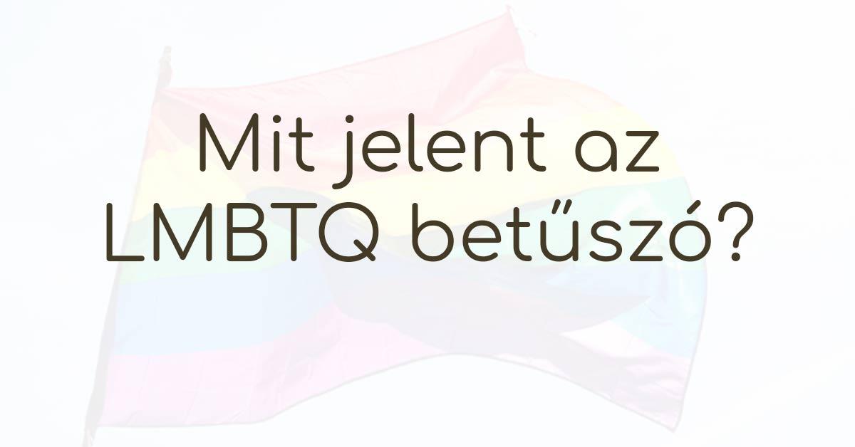 lmbtq jelentése